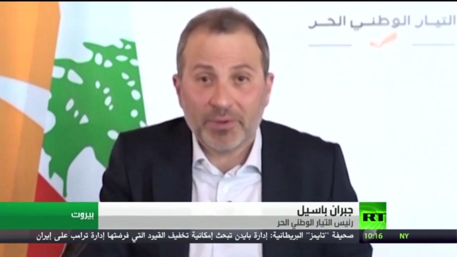 باسيل يتهم الحريري بتعطيل تشكيل الحكومة