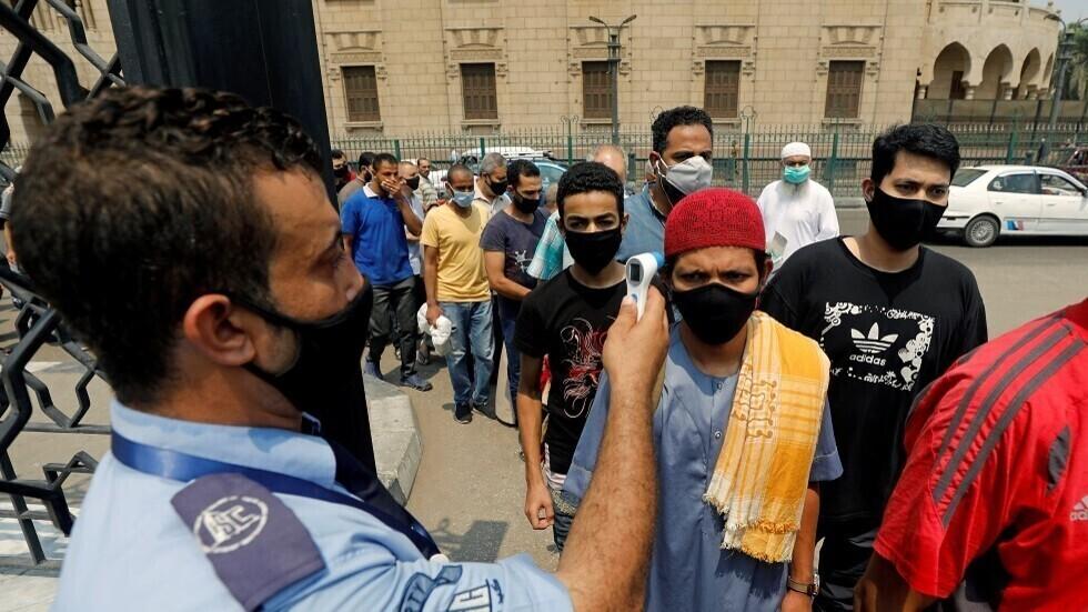 مصر.. 55 وفاة و608 إصابات جديدة بفيروس كورونا المستجد