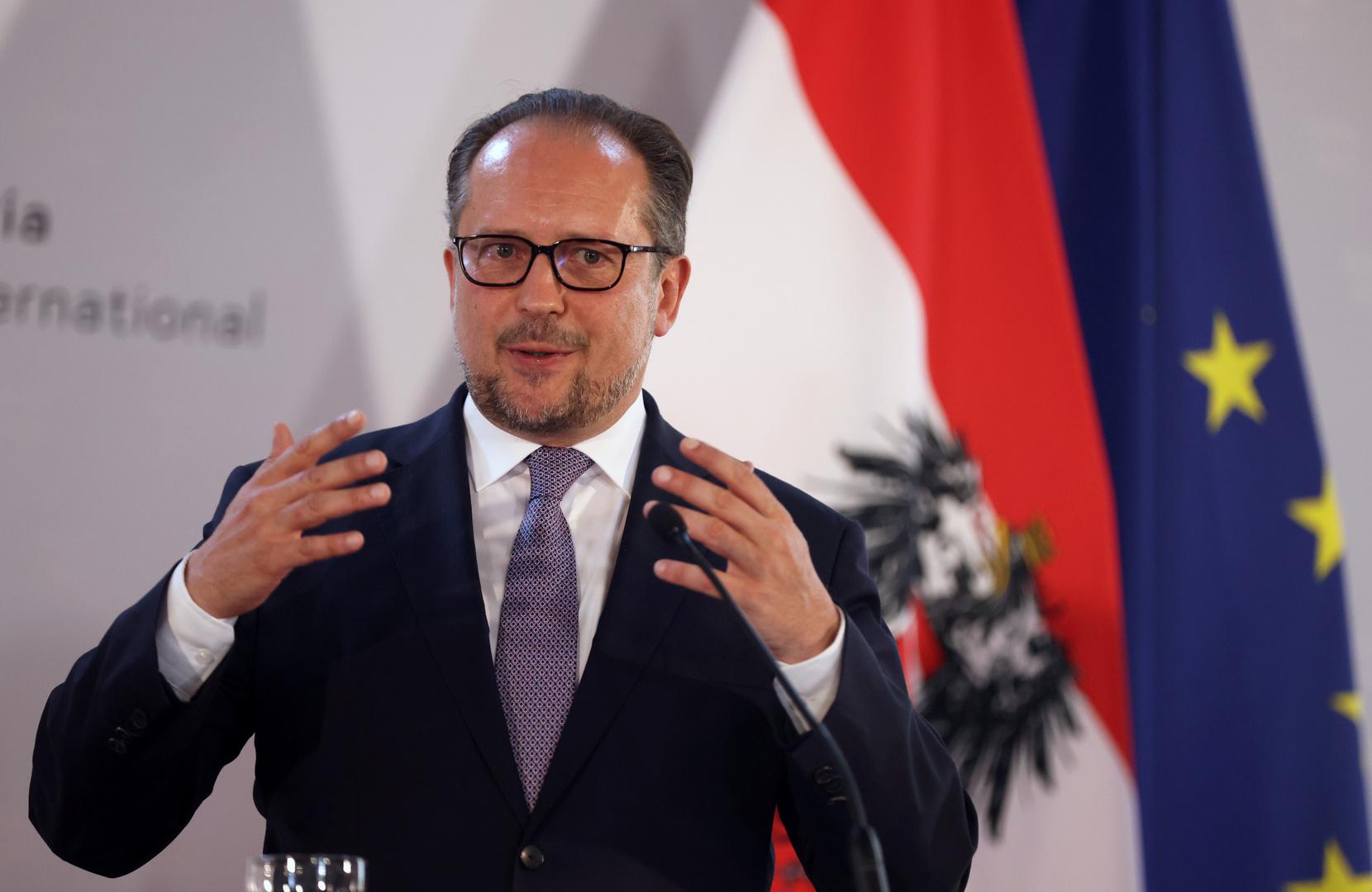 وزير خارجية النمسا ألكسندر شالنبيرغ