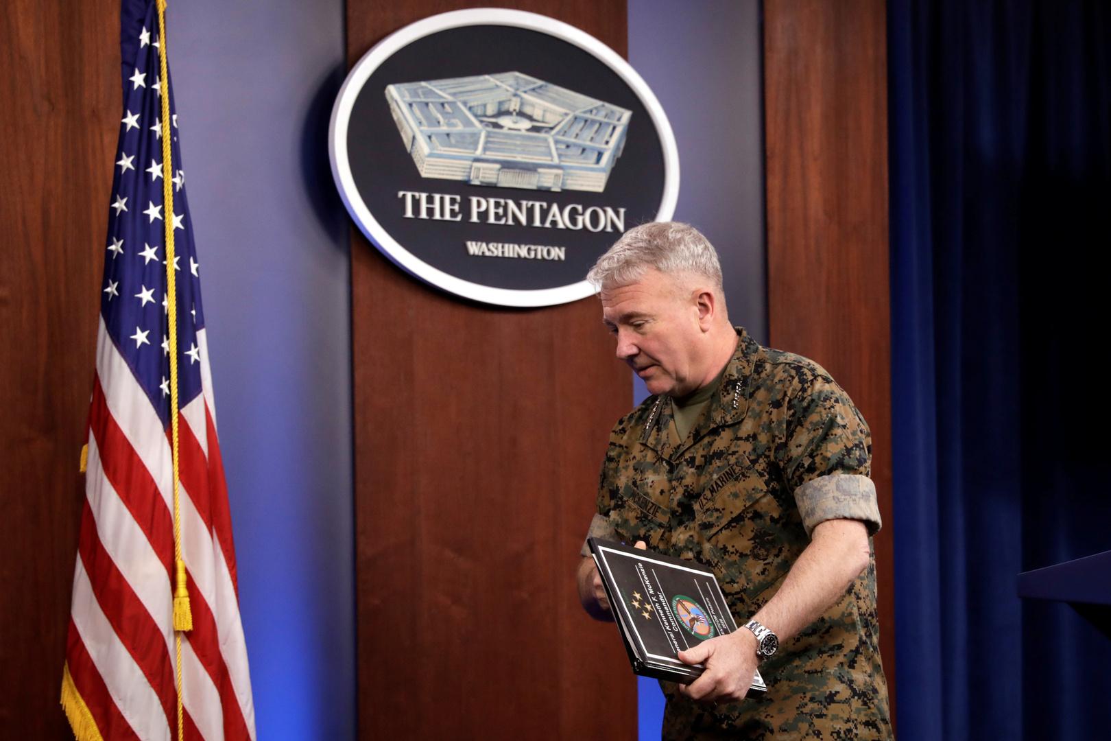 قائد القوات الأمريكية في الشرق الأوسط، كينيث ماكينزي
