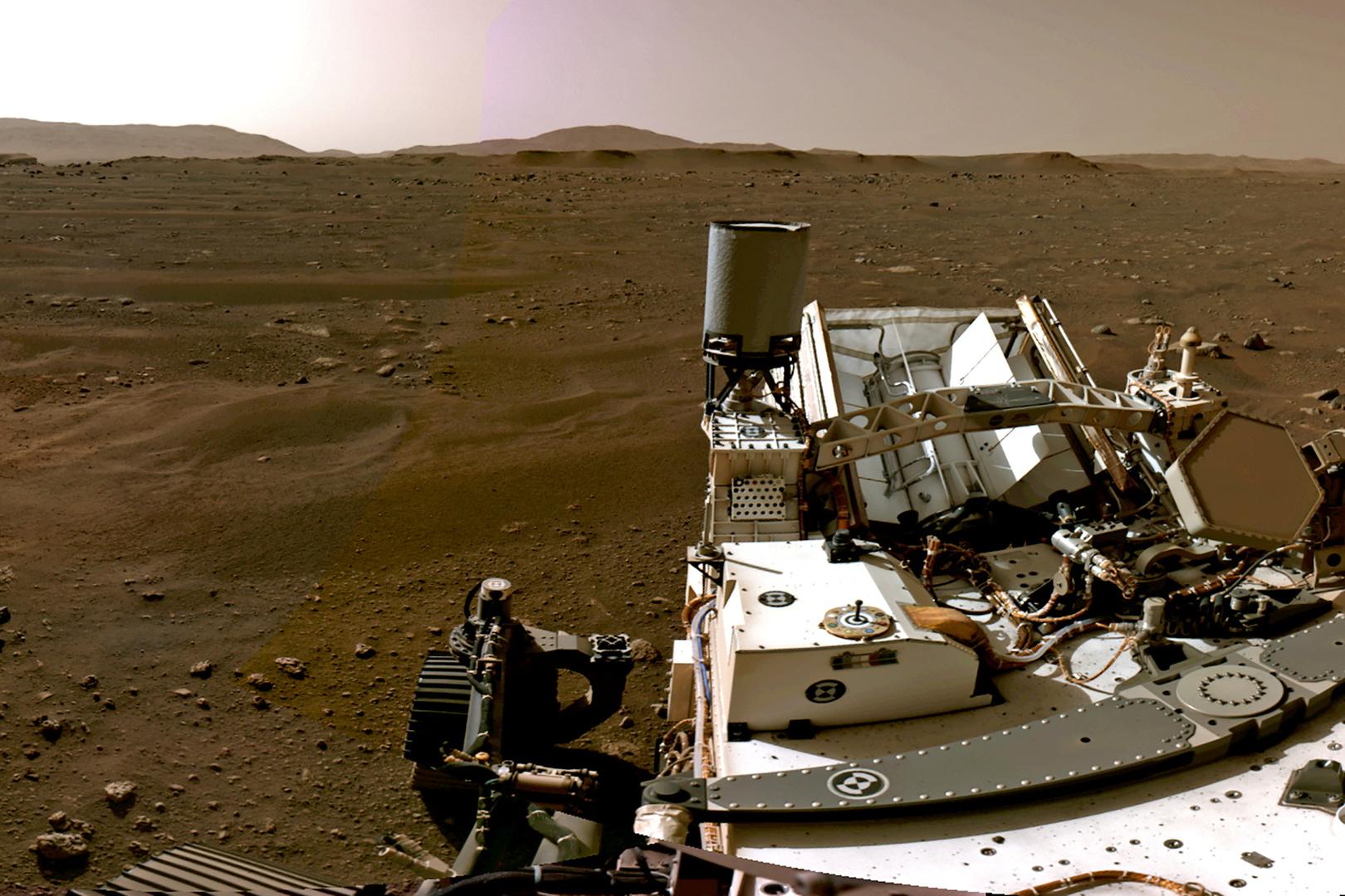 لأول مرة.. اسمع ما يدور على المريخ وشاهد صورا واضحة لسطح الكوكب
