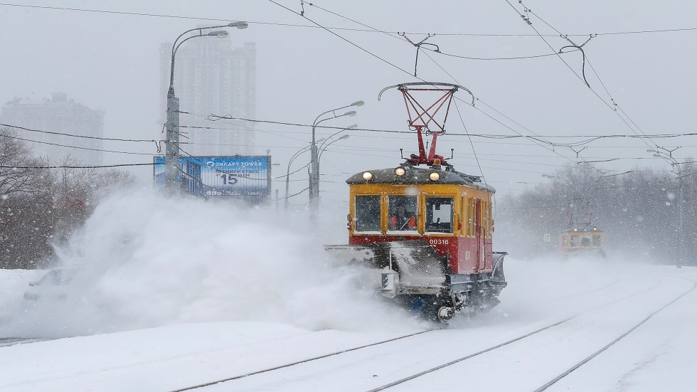العاصمة موسكو تسجل اليوم أدنى درجة حرارة في شتاء العام الجاري