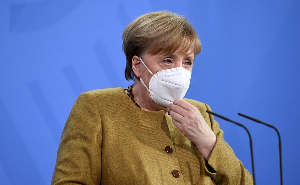 ميركل: ألمانيا تشهد موجة كورونا الثالثة