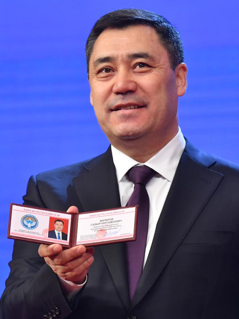الرئيس القرغيزي صدر جباروف