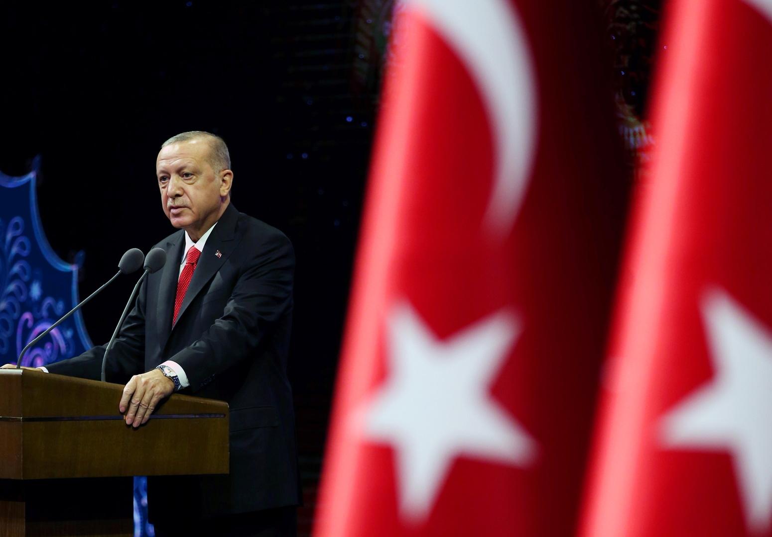 أردوغان: لا نحتاج إلى أذن من أحد لمحاربة الإرهاب في المنطقة