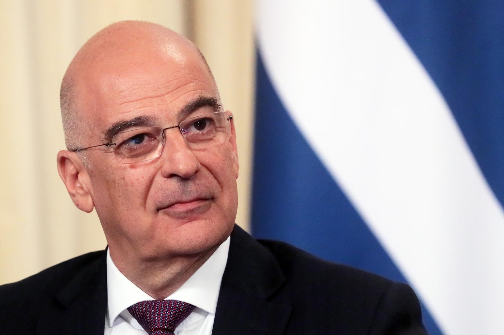 وزير الخارجية اليوناني نيكوس ديندياس