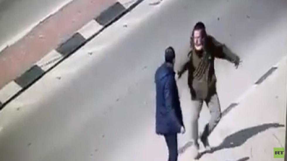 محاولة طعن عند مفترق مستوطنة يتسهار في نابلس (فيديو)
