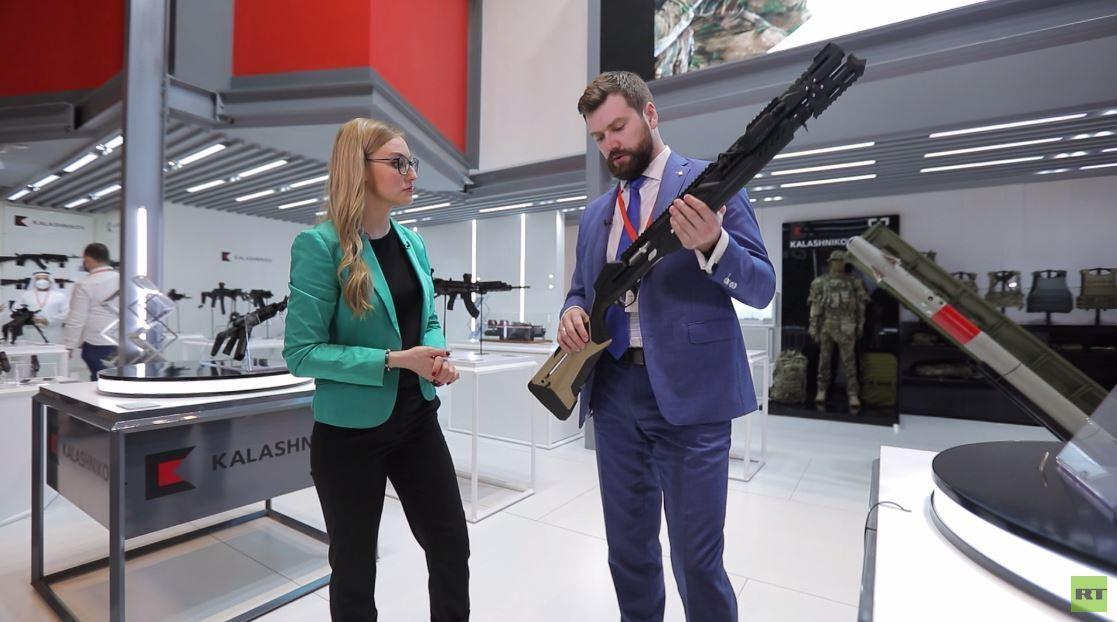 """منتجات """"كلاشنيكوف"""" الجديدة في معرض آيدكس 2021 في أبو ظبي"""