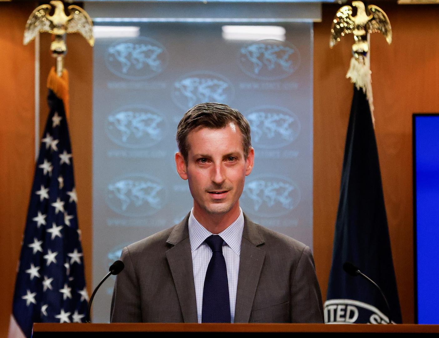 المتحدث باسم وزراة الخارجية الامريكية نيد برايس