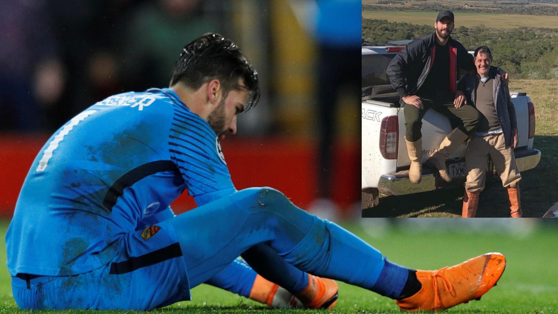 حارس ليفربول يخسر والده في حادث غرق بالبرازيل