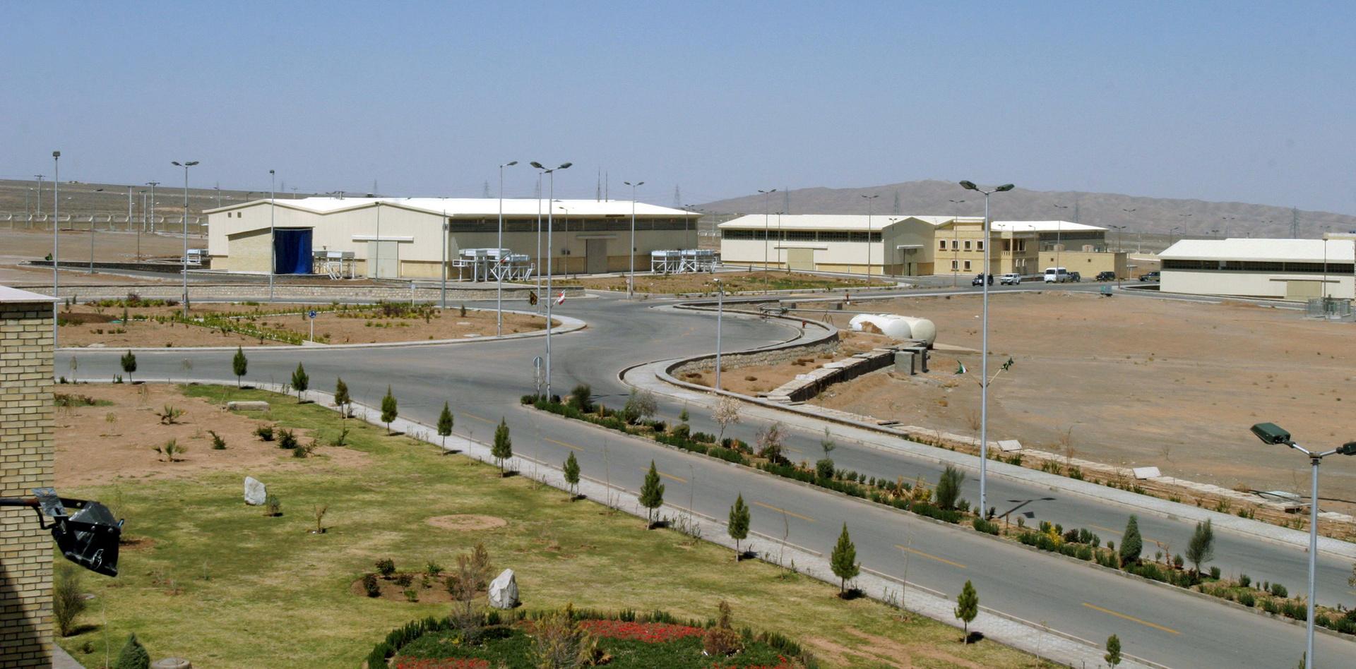 محطة نطنز النووية الإيرانية