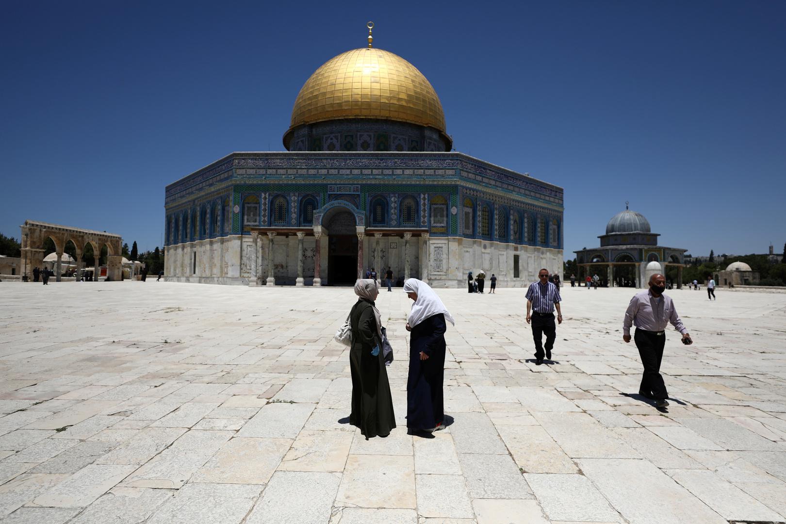 الإعلام الإسرائيلي: فلسطين رفضت طلب إسرائيل افتتاح نقطة تطعيم في الحرم القدسي