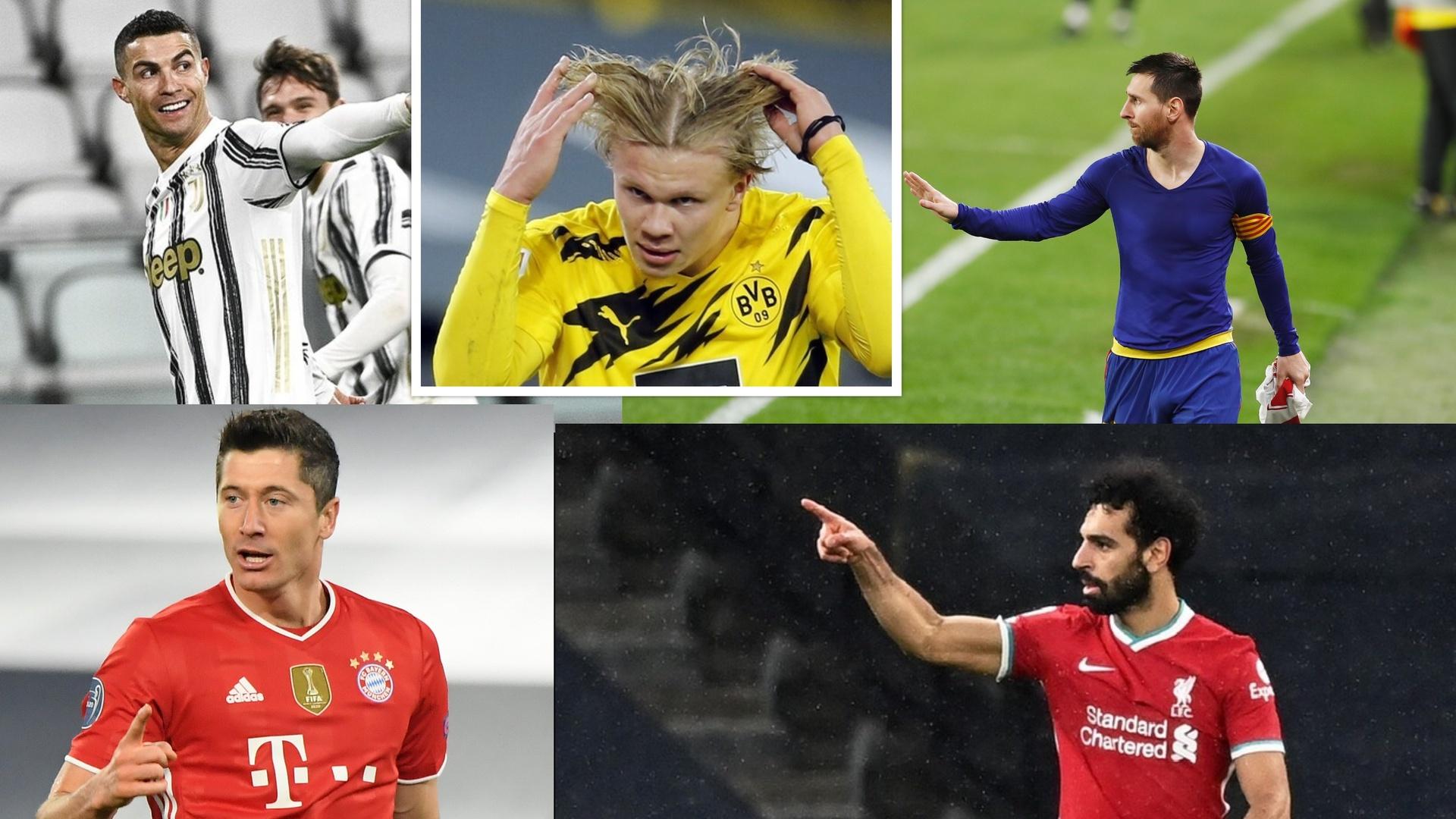تعرف على ترتيب هدافي دوري أبطال أوروبا بعد نهاية جولة الذهاب