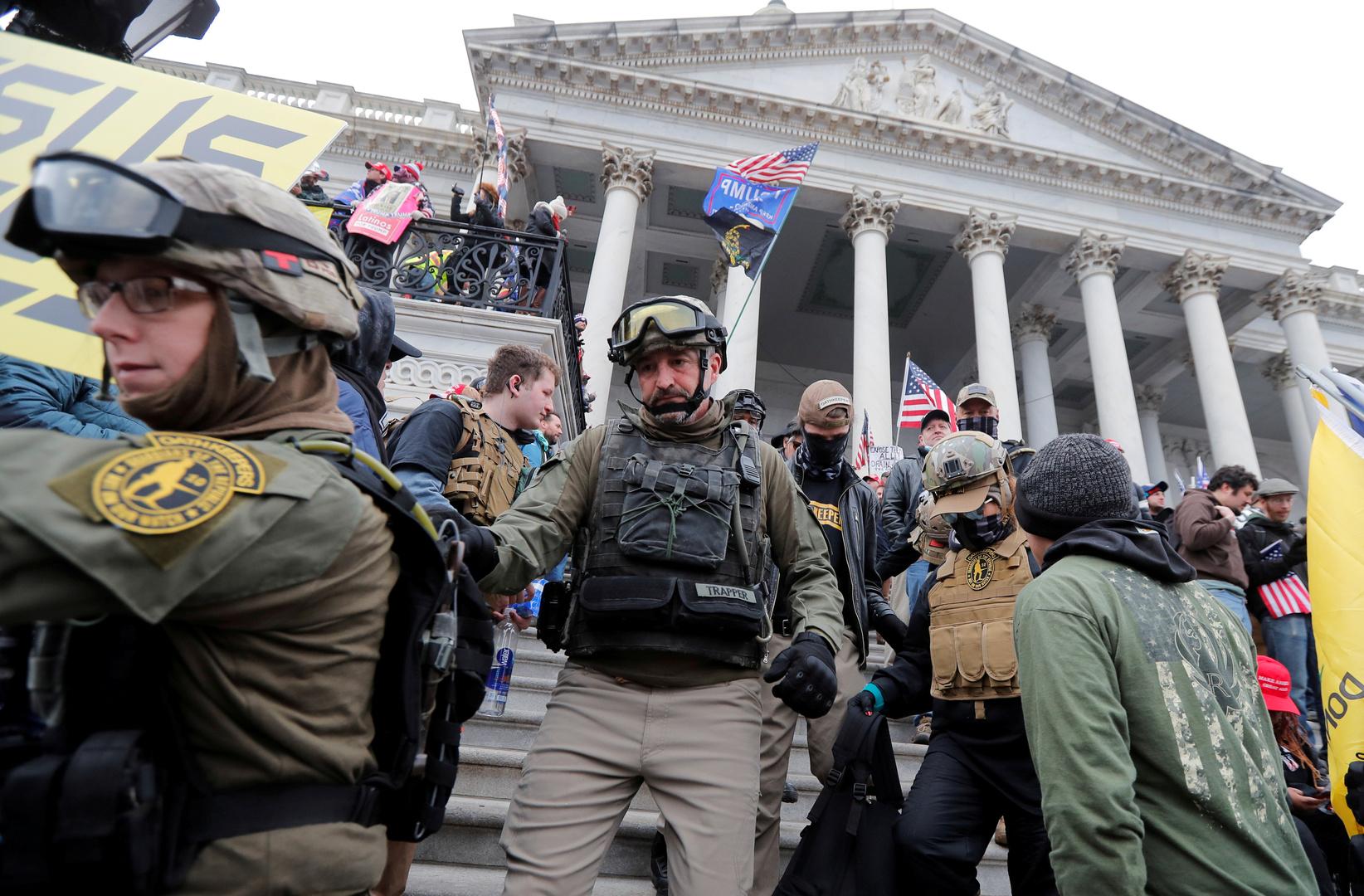 شرطة الكونغرس تحذر من خطط لتفجير مبنى الكابيتول خلال خطاب مرتقب لبايدن