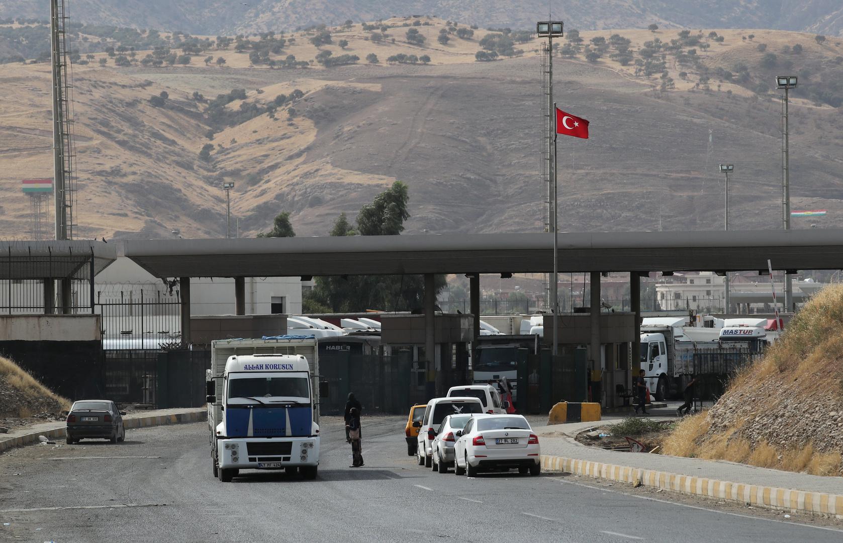 تركيا والعراق يعتزمان فتح معبر حدودي جديد