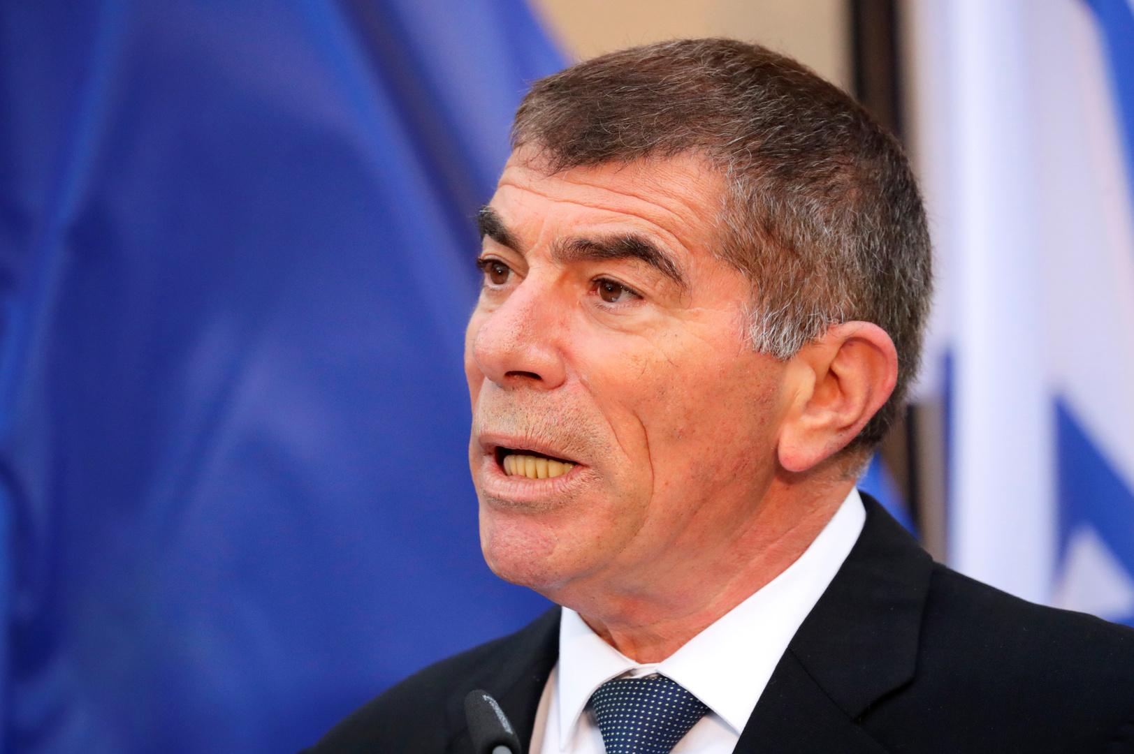 وزير الخارجية الإسرائيلية غابي أشكنازي