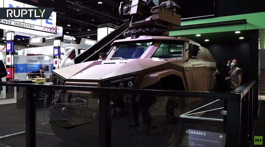 شركة فرنسية تعرض عربتها المدرعة الخفيفة في أبو ظبي آيدكس 2021