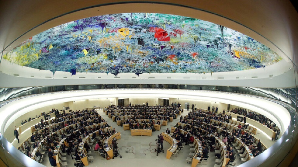 جلسة لمجلس الأمم المتحدة لحقوق الإنسان في جنيف - أرشيف