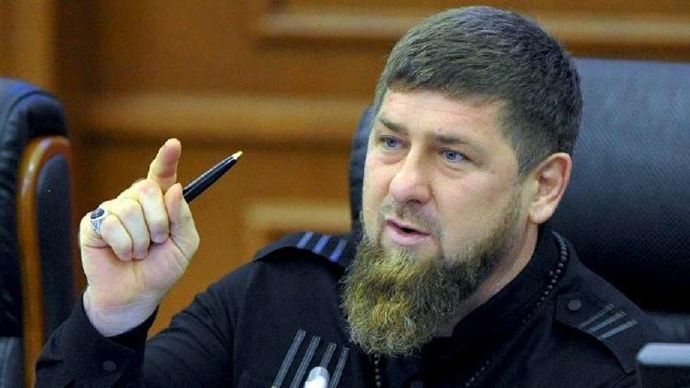 الزعيم الشيشاني رمضان قديروف