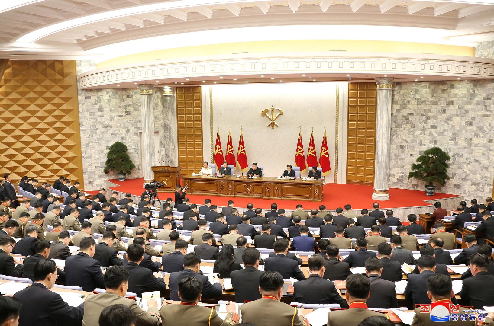 كوريا الشمالية تستعرض سبل تحقيق الأهداف الاقتصادية
