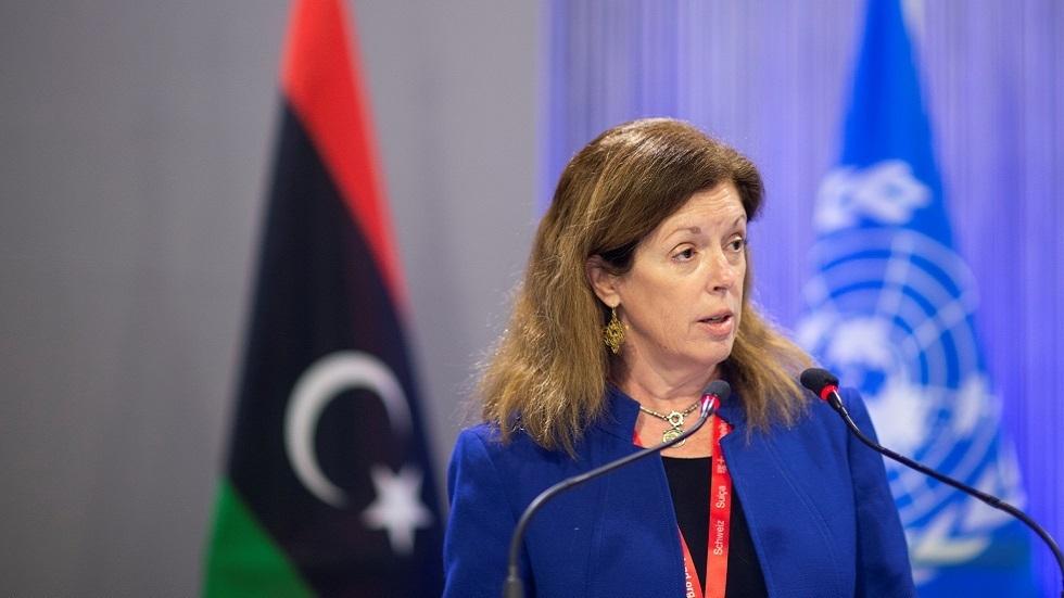 المبعوثة الأممية بالإنابة السابقة إلى ليبيا سيتفاني وليامز