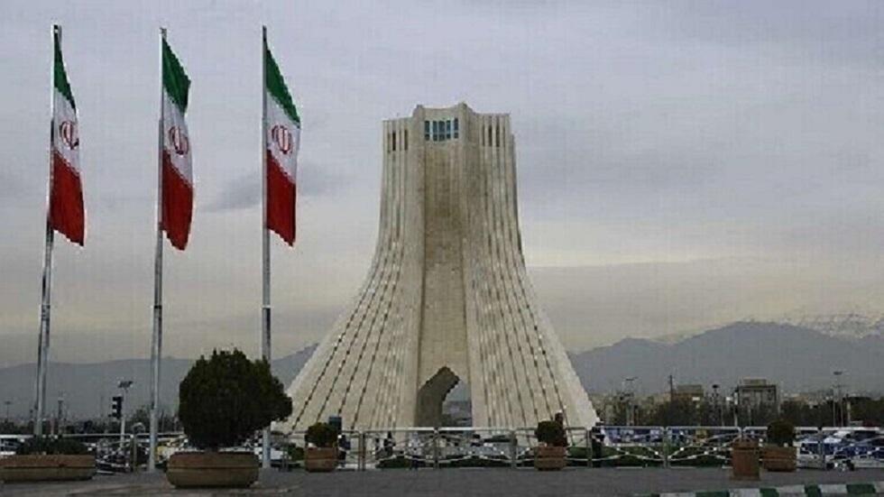 ميدان آزادي وسط العاصمة الإيرانية طهران - أرشيف