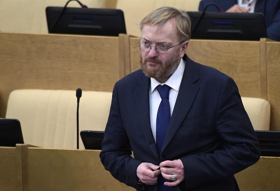 عضو مجلس الدوما فيتالي ميلونوف