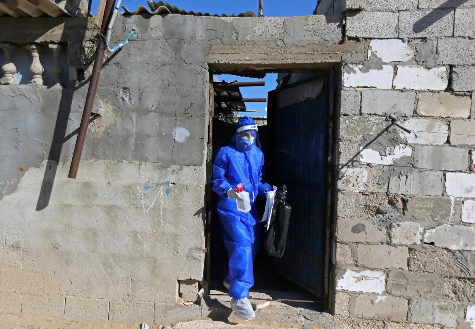 كازاخستان تقدم مساعدات طبية لفلسطين في مواجهة كورونا