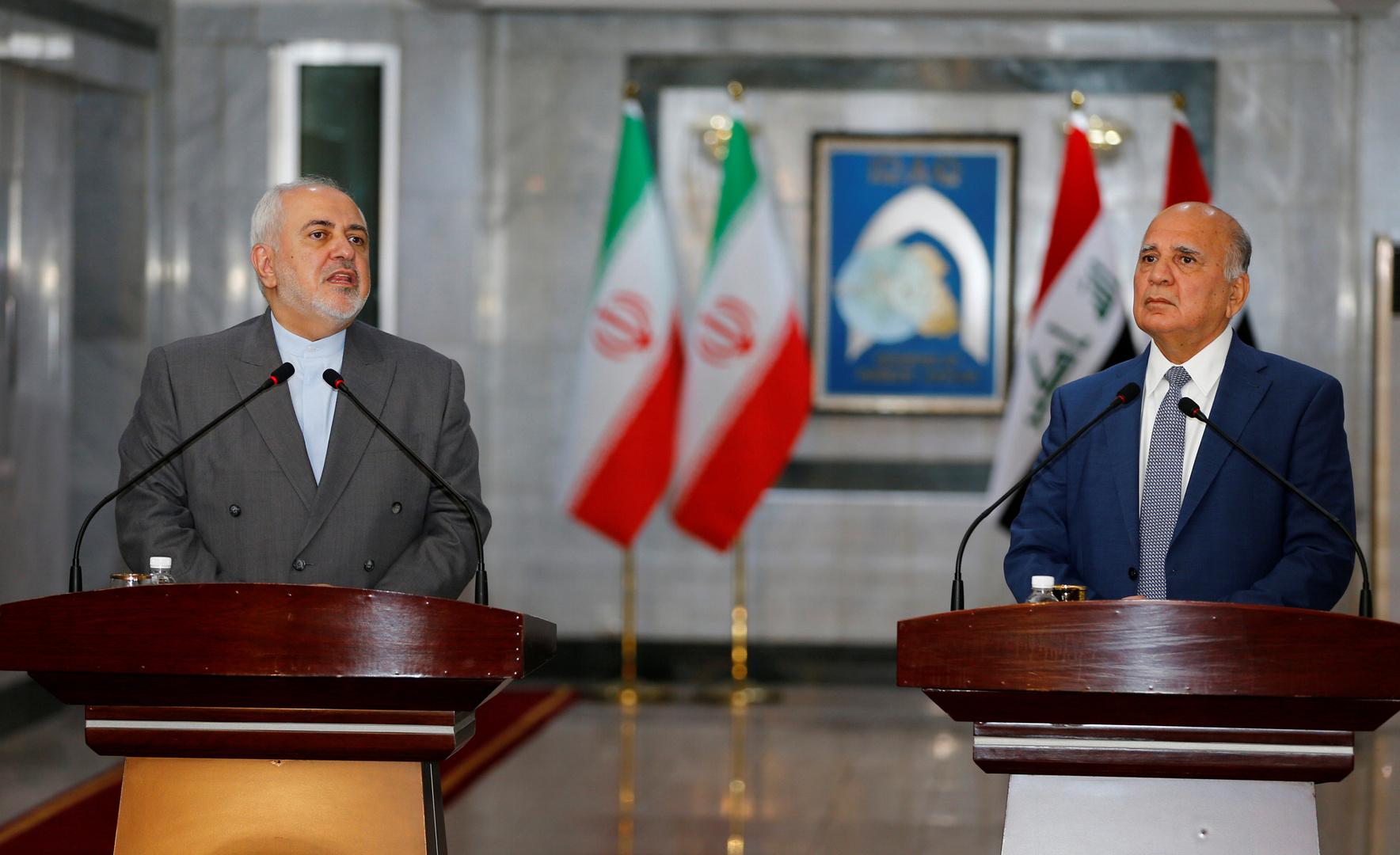 وزير خارجية العراق: لن نسمح باستغلال التطورات الأخيرة لتخريب علاقاتنا مع إيران