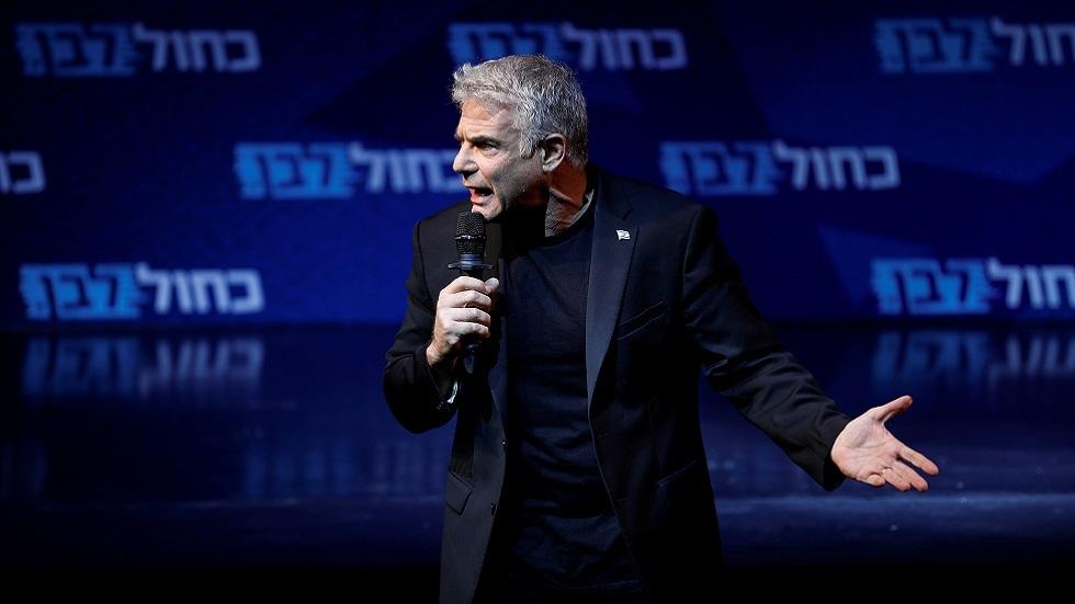 زعيم المعارضة في الكتيست الإسرائيلي يائير لابيد (صورة أرشيفية)