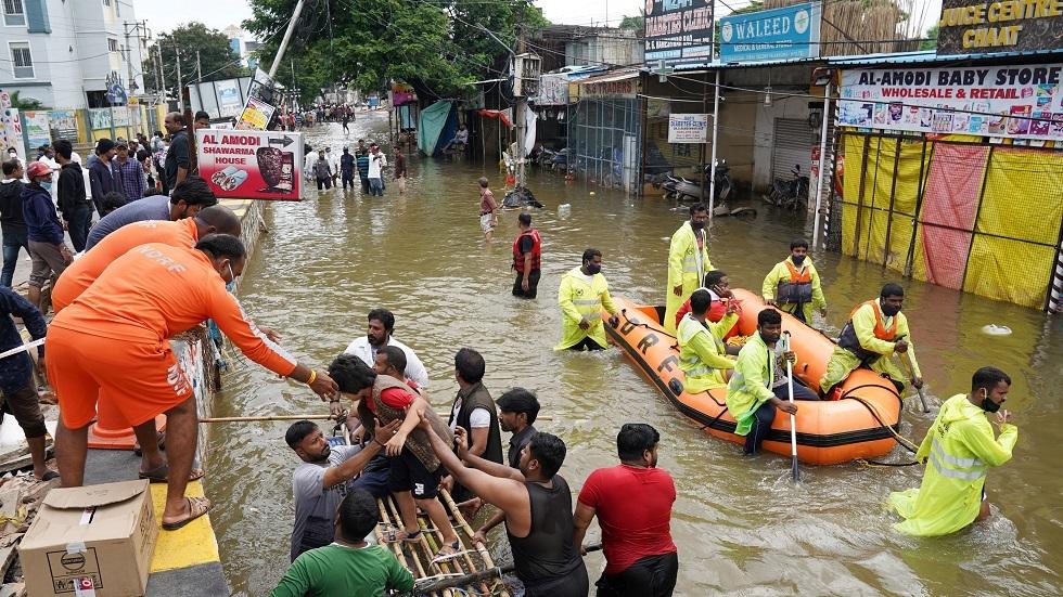 الفيضانات في الهند - أرشيف