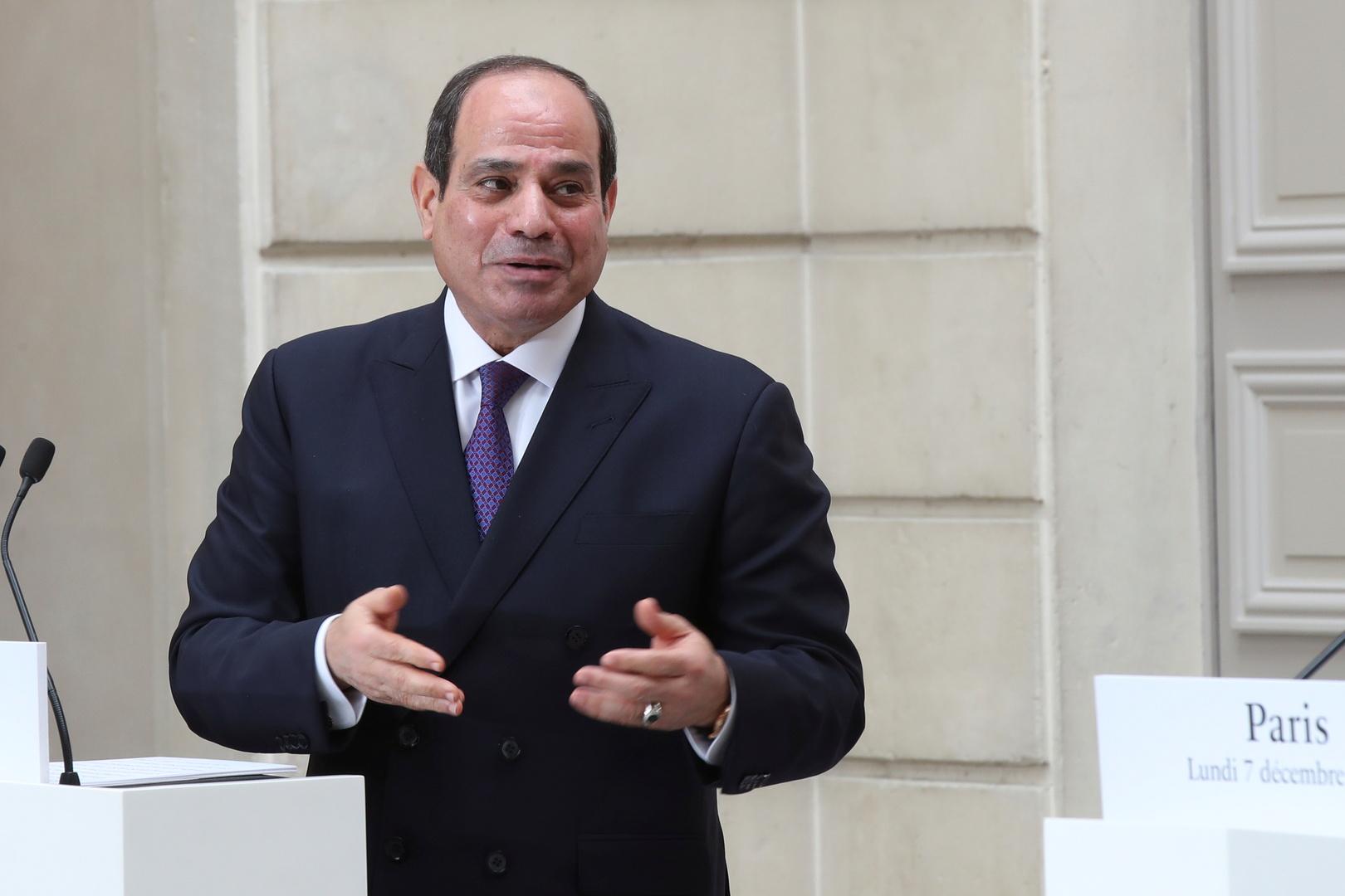 السيسي يوجه رسالة للكويت بشأن المصالحة مع قطر