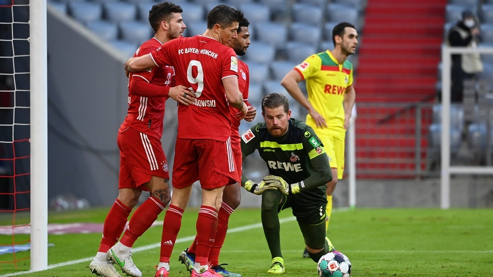 Bayern Munich hardens Cologne by five in