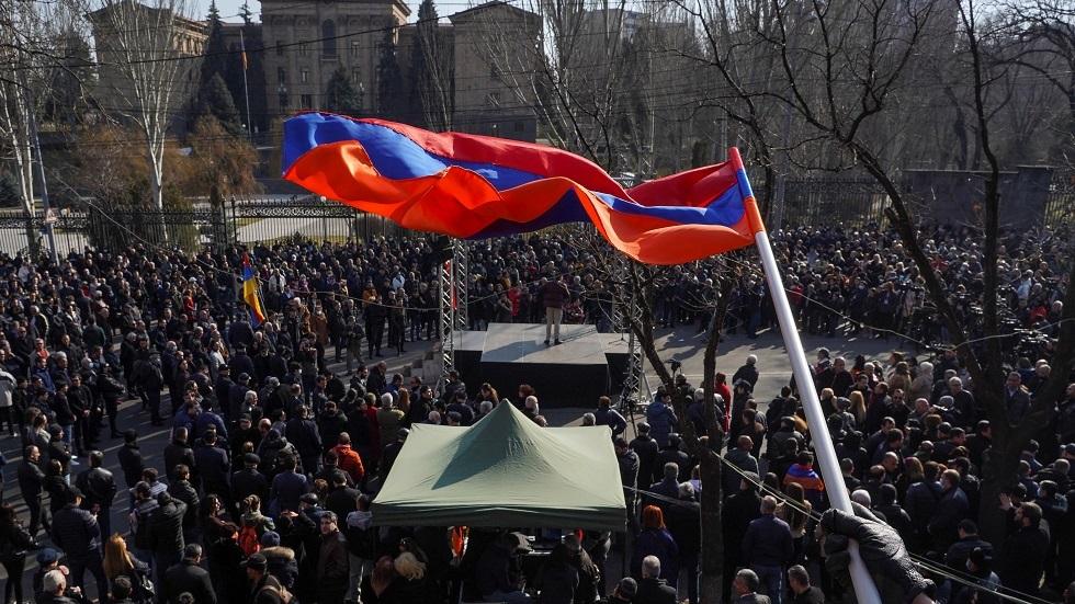 الاحتجاجات في أرمينيا