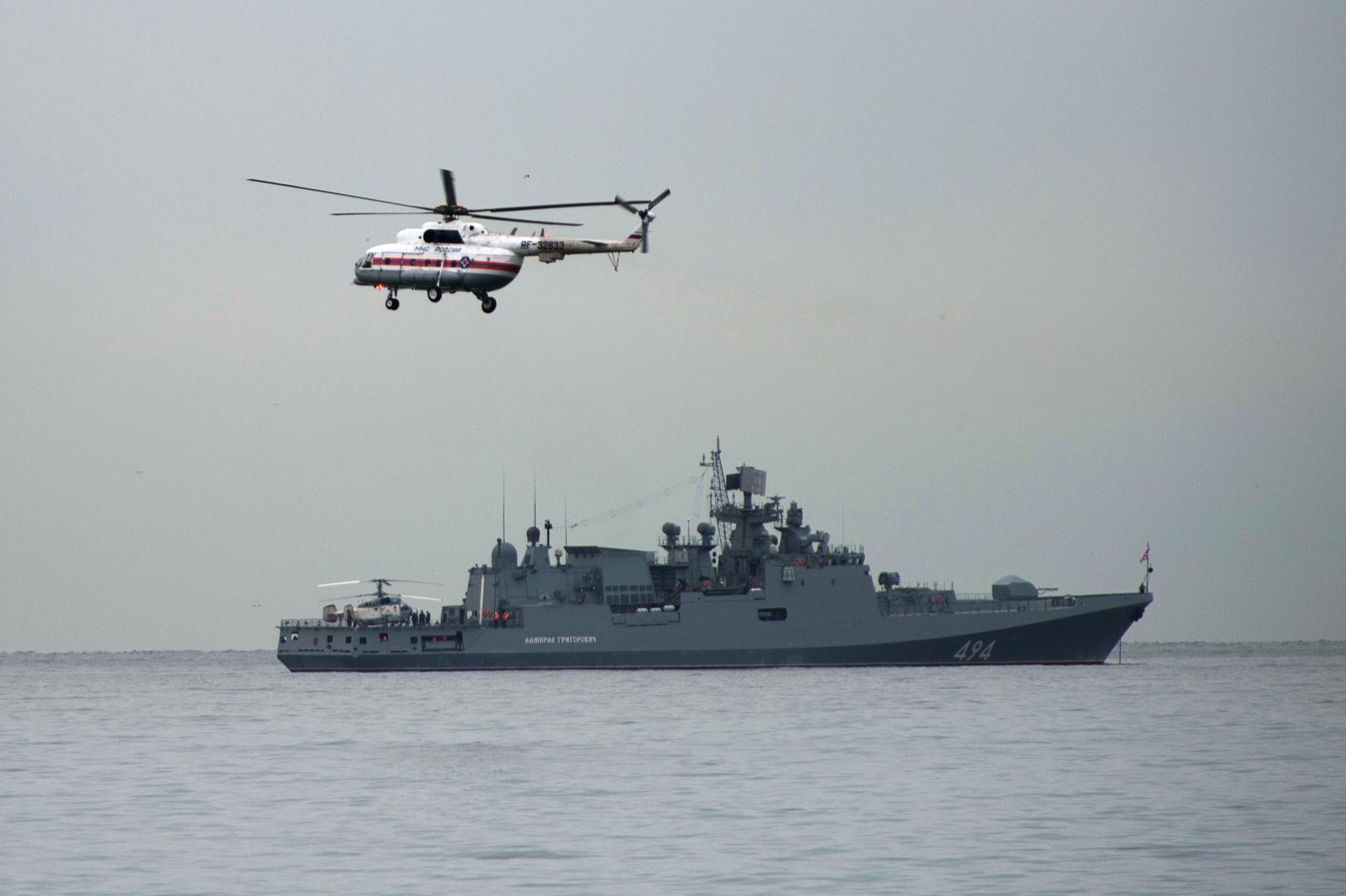 لأول مرة في تاريخ البلاد المعاصر.. سفينة حربية روسية تصل بورتسودان