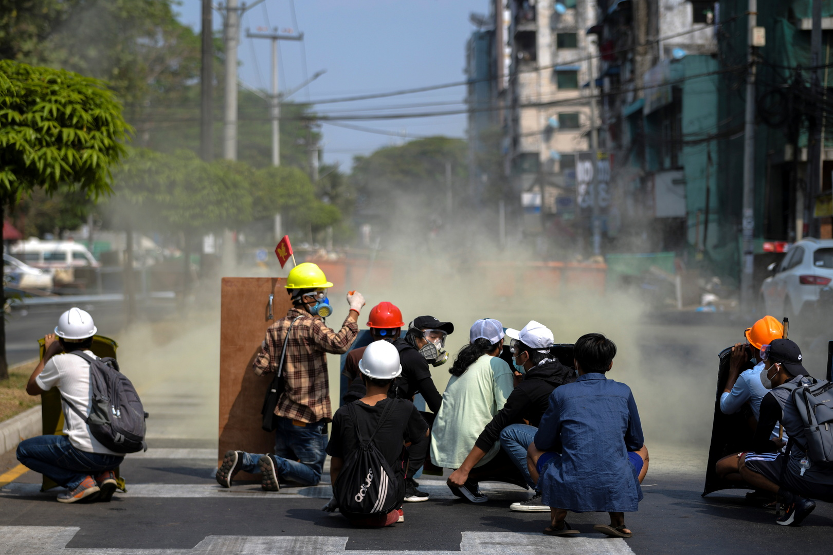 الأمم المتحدة: 18 قتيلا على الأقل خلال فض مظاهرات في ميانمار