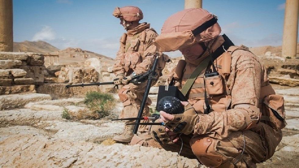 الجيش الروسي يدمر شبكة كهوف لقيادة المسلحين قرب تدمر