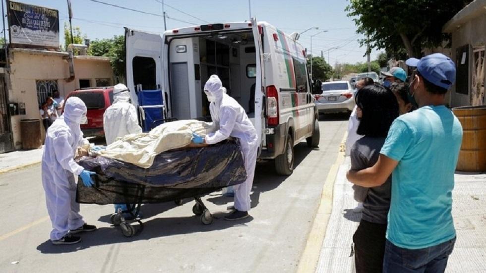 وفيات كورونا في المكسيك تتجاوز الـ185 ألف حالة