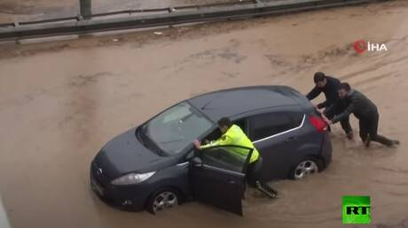 Flash floods sweeping Turkey's Izmir
