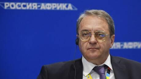 """بوغدانوف يستقبل ممثلين عن """"حركة سيف الإسلام القذافي"""""""