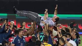 رغم الخسارة.. فلامنغو يحرز لقب الدوري البرازيلي (فيديو)