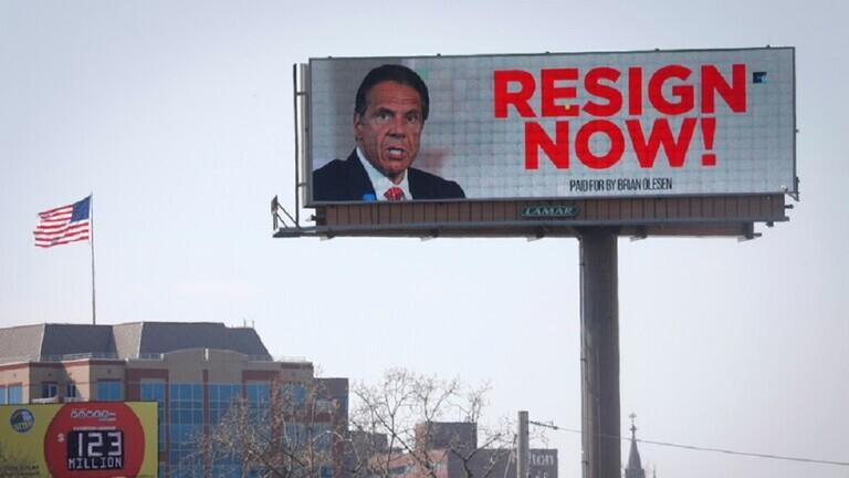 """رئيس مجلس ولاية نيويورك يفوض ببدء """"تحقيق عزل"""" ضد أندرو كومو 604ab26342360472b5264aab"""