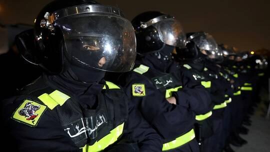 الاردن، الملك عبدالله الثاني،  مستشفى السلط الحكومي ، احتجاجات، الأوبئة، جائحة، شرطة،  فيروس كورونا،  مظاهرات، حربوشة نيوز