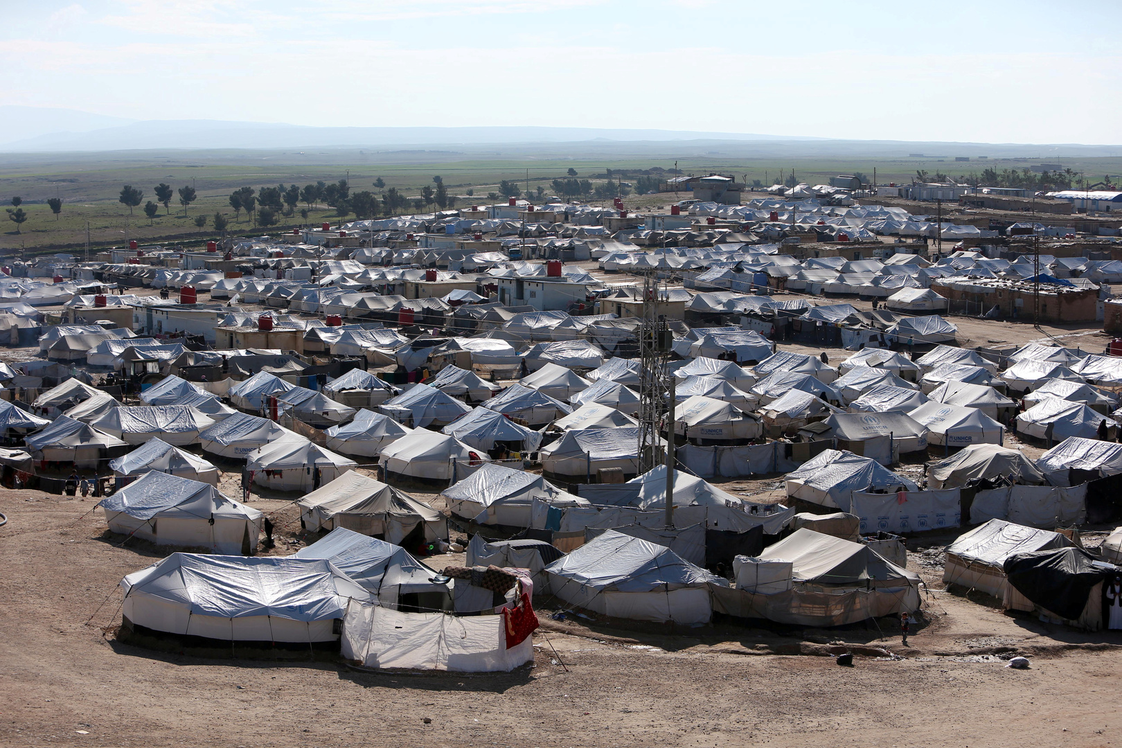 مخيم الهول، سوريا
