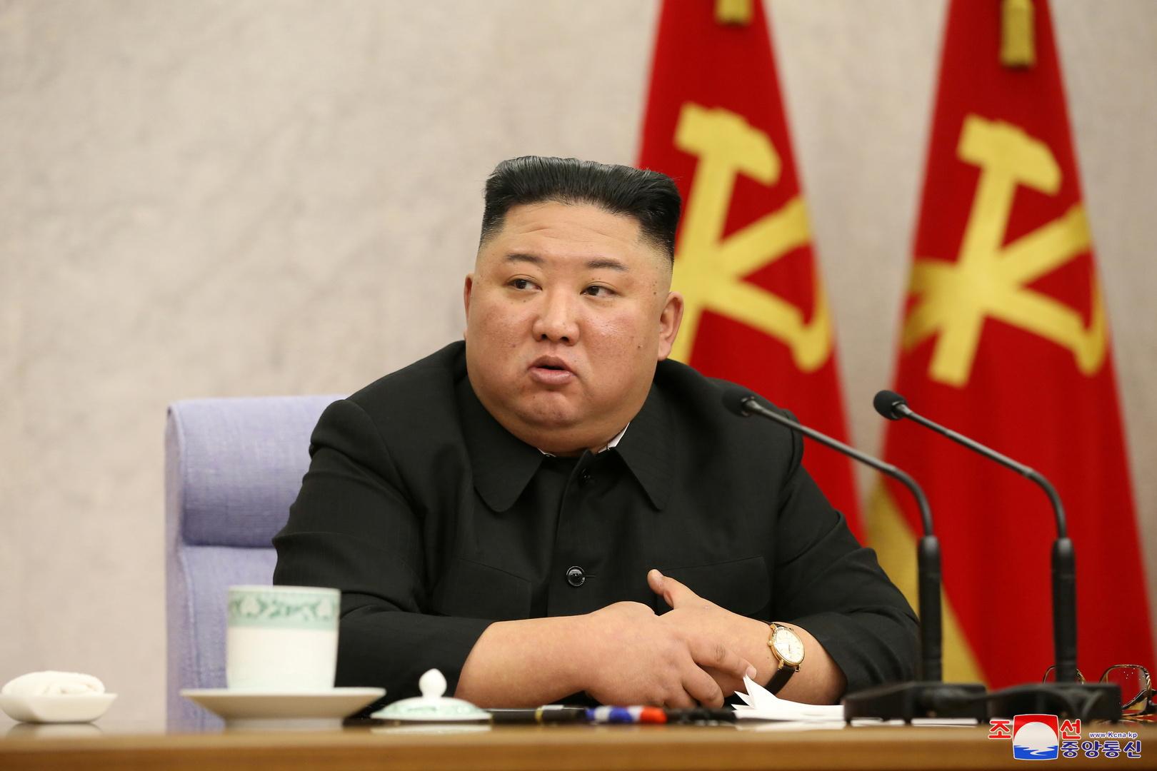 الزعيم الكوري الشمالي كيم جونغ أون