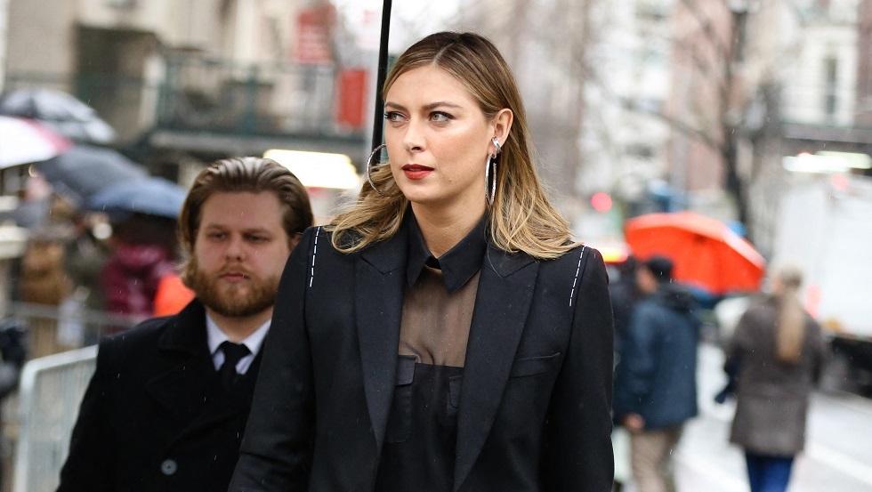 ترتيب شارابوفا في قائمة أغنى نساء روسيا