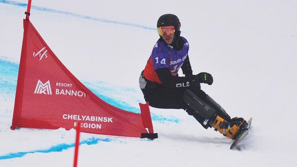الروسي لوغينوف يتوج بذهبية سباق التعرج المتوازي (فيديو)
