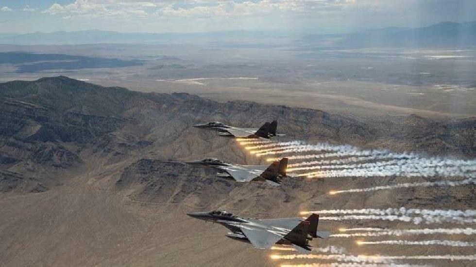 طائرات التحالف الدولي في سماء سوريا - أرشيف