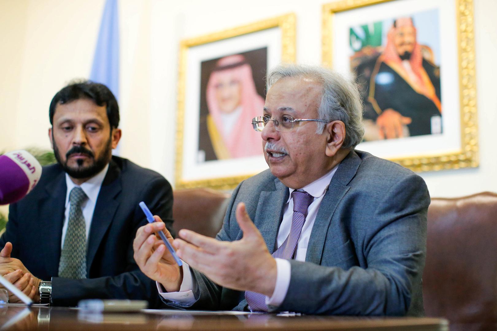 السفير السعودي لدى الأمم المتحدة، عبد الله المعلمي