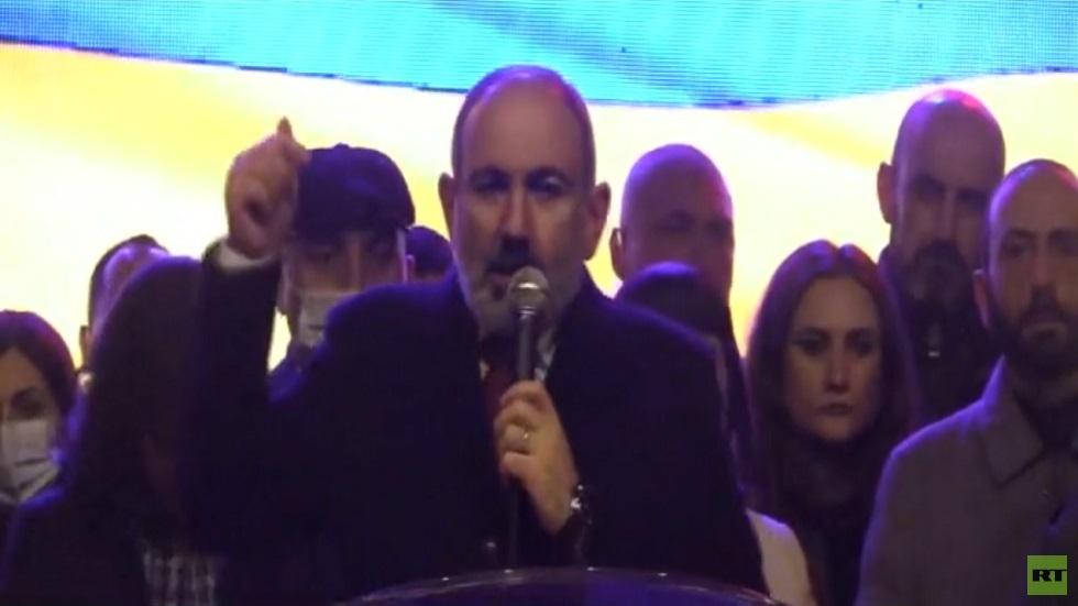 باشينيان: سنجري استفتاء على الدستور